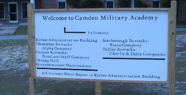 Camden Academy Receives New Campus Signage