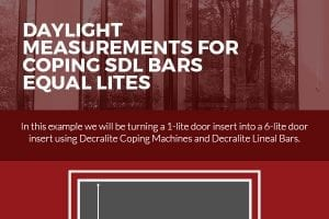 Daylight Measurements for Coping SDL bars Equal Lites [infographic]